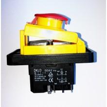 Vypínač pro pásovou pilu Topland G5013W/230  STOP-tlačitko, 250V, 5 konektorovy