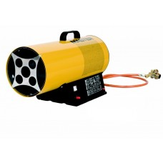 Plynové topidlo Master BLP 17M DC ACCU - o výkonu 16 kW s regulaci + baterie Li-ion 3 Ah a nabíječka